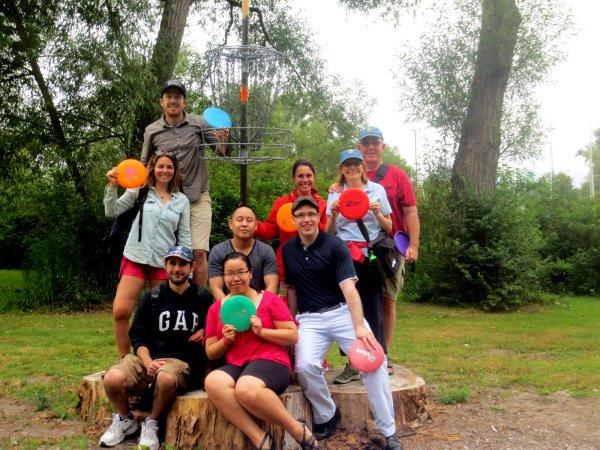 August 23, 2014 Disc Golf