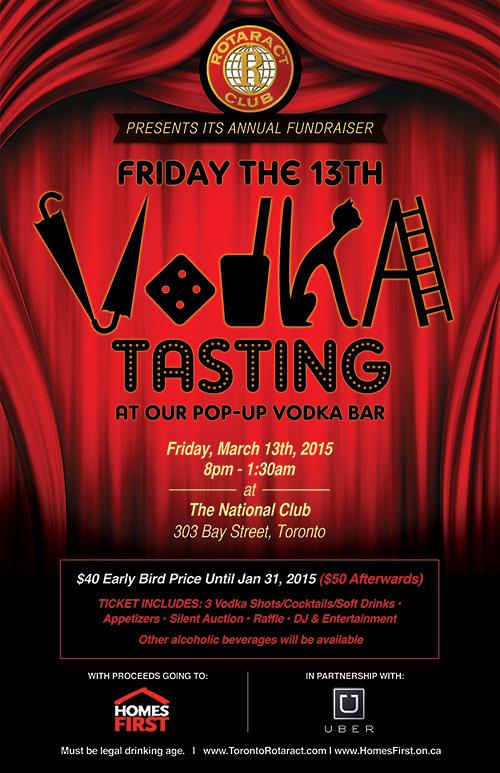 Friday the 13th Vodka Tasting
